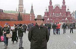 Terry Hokenstad in Russia
