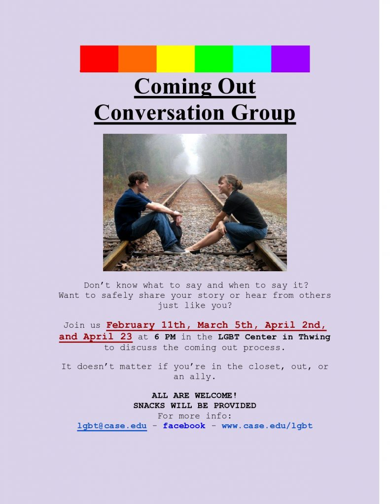 coming out group CWRU