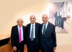 Jack, Joseph and Morton Mandel