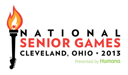 National Senior Games Cleveland logo