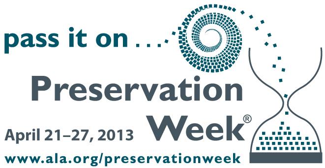 Preservation Week at CWRU