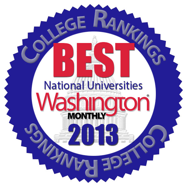 Washington Monthly best colleges logo