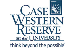 CWRU stacked logo with tagline