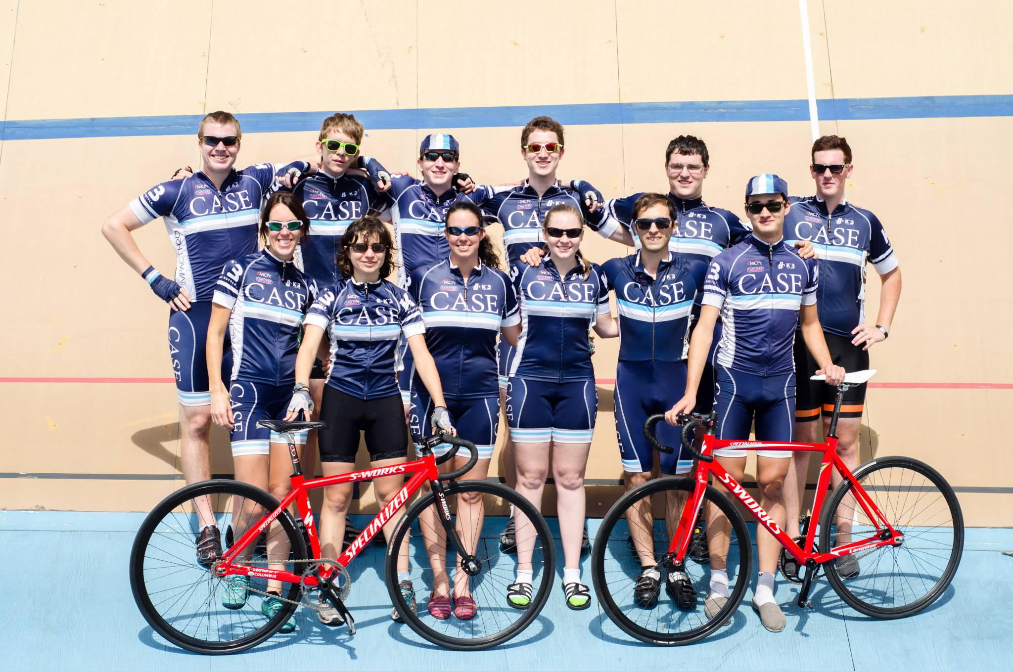 Case Cycling Track Team