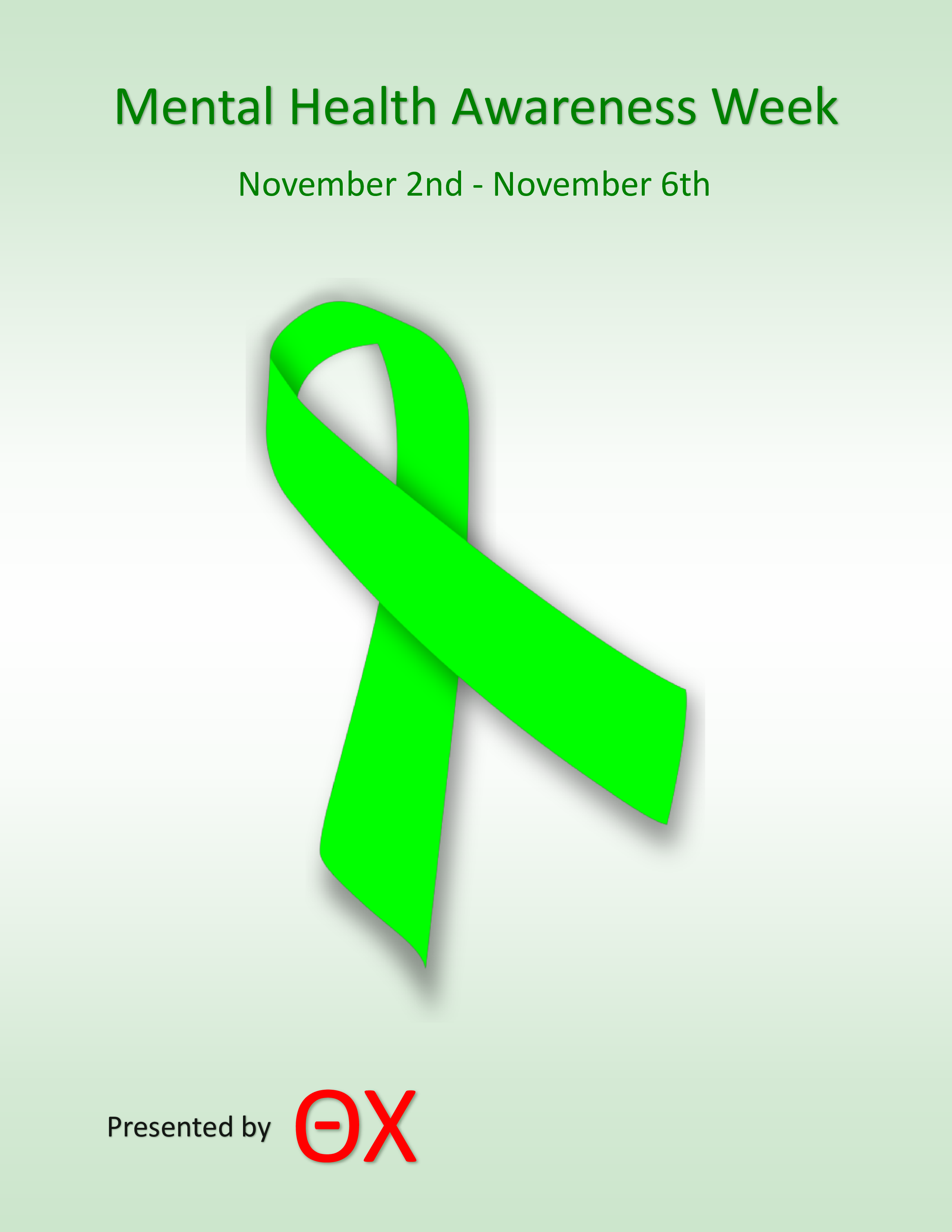 Participate In Mental Health Awareness Week Events Nov 2 6 The Daily