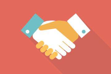 handshake icon