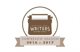 William N. Skirball Writers Center Stage Series 2016-17 logo