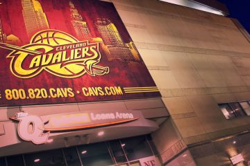 Entrance of the Quicken Loans arena
