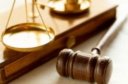 Scales and gavel