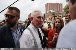 Roger Stone in cleveland for RNC