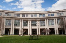 picture of the Kelvin Smith Library at CWRU