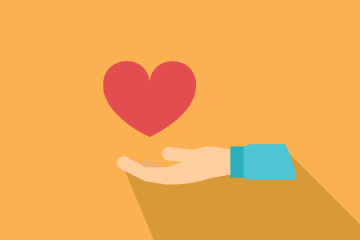 hand and heart icon