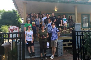 Students at the A Christmas Story House