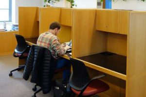 Image result for study carrels
