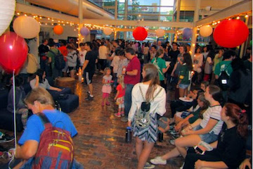 People at the 2015 CWRU Mid-Autumn Festival