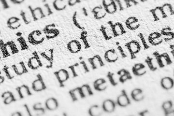 dictionary definition of ethics