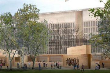 rendering of the Eisenhower Memorial