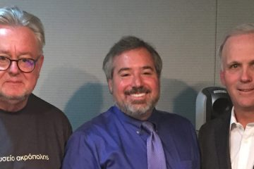 Image of Michael Scharf with Bill Schabas and Mark Ellis