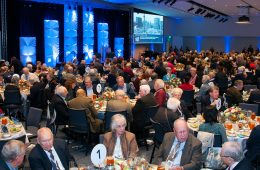 Campus community members at 2015 Homecoming Luncheon