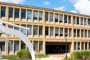 Exterior of the Frances Payne Bolton School of Nursing