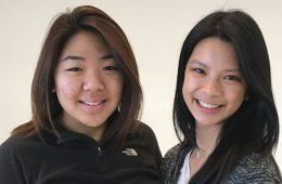 Amy Chang and Tracy Pang