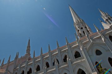 St.Thomas Basilica, a Roman Catholic basilica in Chennai (Madras), India