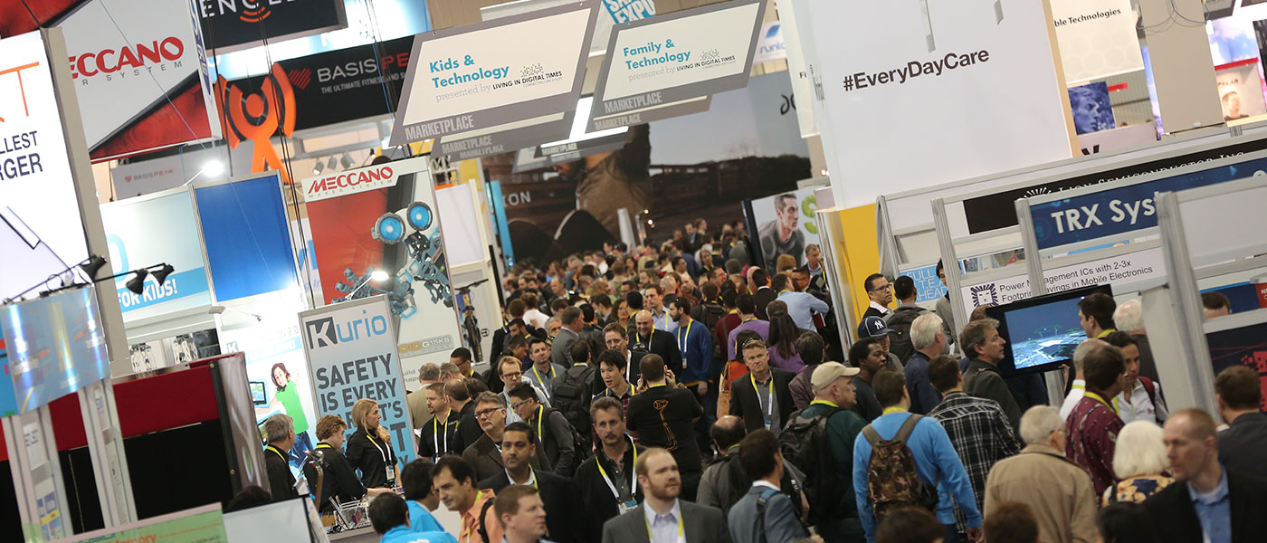 View of the floor at CES 2016