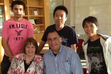 International Friendship Program host family and international students