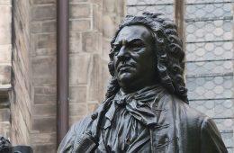 statue of Johann Sebastian Bach