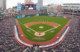 Photo of Progressive Field in Cleveland