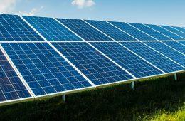 Photo of solar panels
