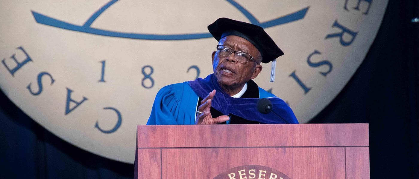 Photo of commencement speaker Fred Gray