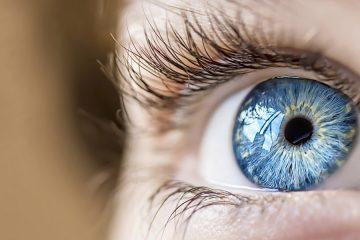 Close up photo of eye