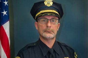 headshot of CWRU police officer Scott Del Rosa