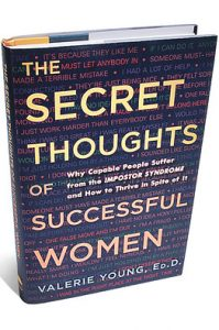 "Photo of the cover of ""The Secret Thoughts of Successful Women"""