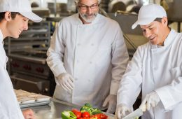 chefs teaching