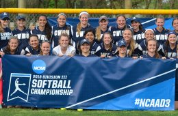 2018 CWRU softball team at NCAA Div III Regional Championship