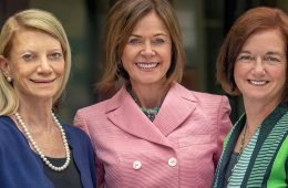 (from left): Joyce J. Fitzpatrick, Marian K. Shaughnessy and Mary Kerr