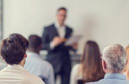 speaker leading conference workshop
