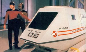 """El-Baz"" on Star Trek"