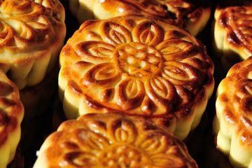 Photo of mooncakes