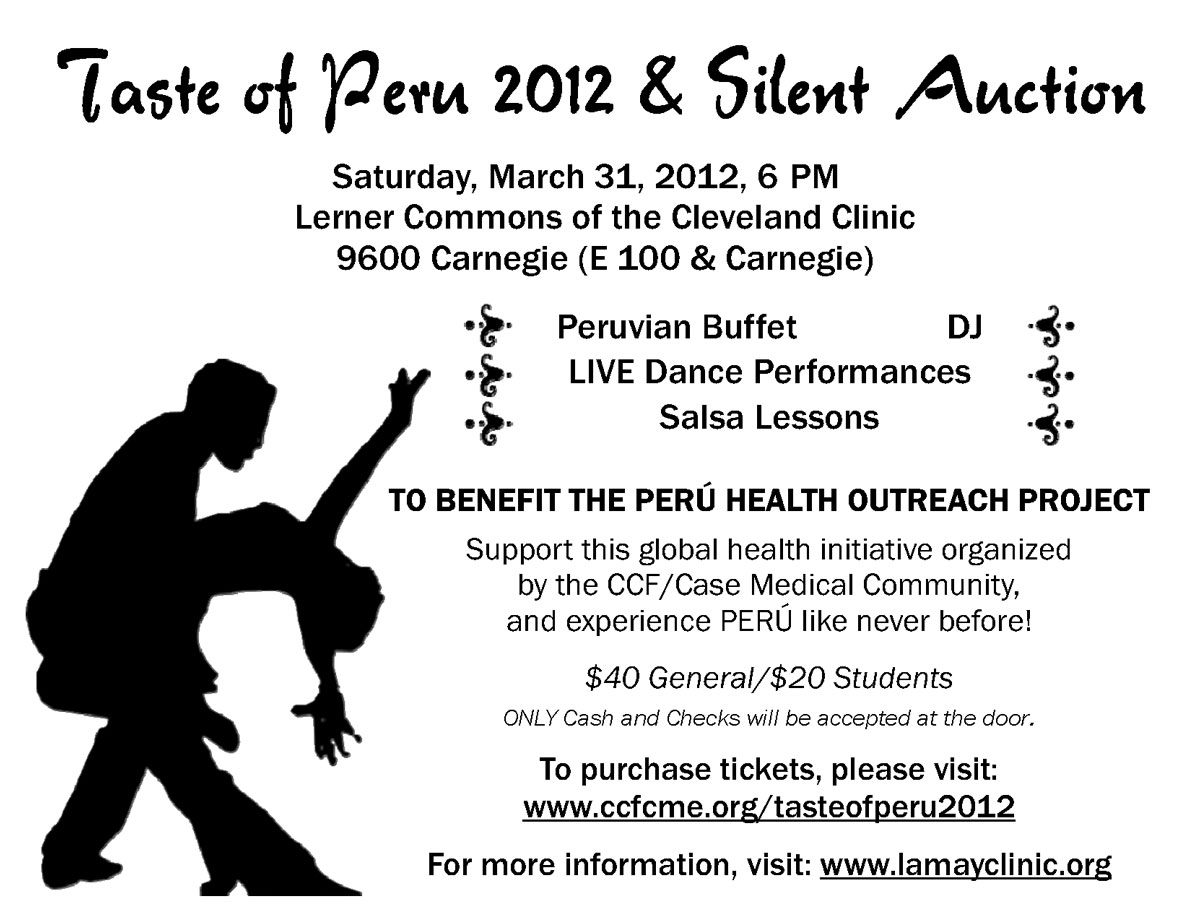 Medical students to host Taste of Peru charity gala March 31