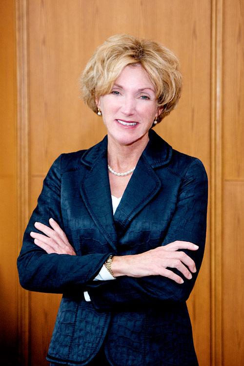headshot of CWRU President Barbara R. Snyder