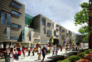 rendering of Uptown CWRU