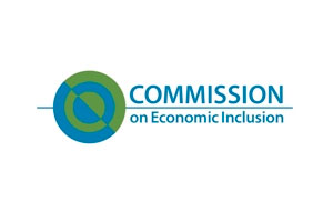 logo for the Commission on Economic Inclusion