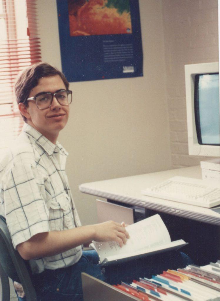 Eric Rains at CWRU 1990
