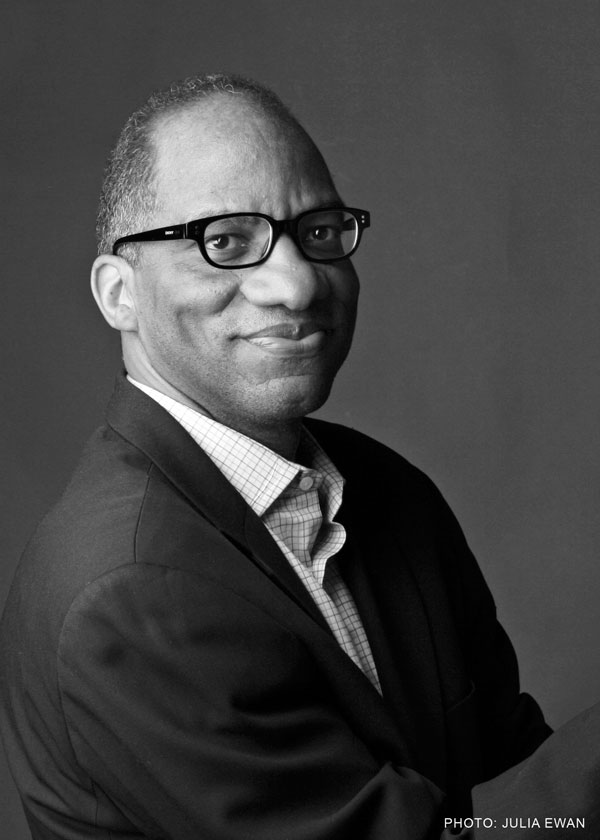 Wil Haygood headshot black and white