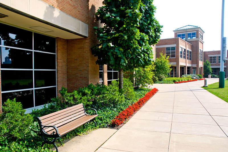 Exterior of Veale Center CWRU