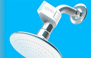 Sprav on a shower head