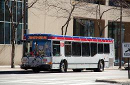 An RTA bus